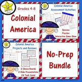 Colonial America No-Prep Bundle