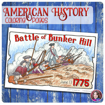 American Revolution Coloring Activities