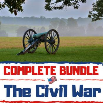 Civil War Unit Bundle: Over 130 Pages/Slides of Dynamic Ac