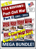 American History Course Part II - 1861 to 2015 - 115 Files