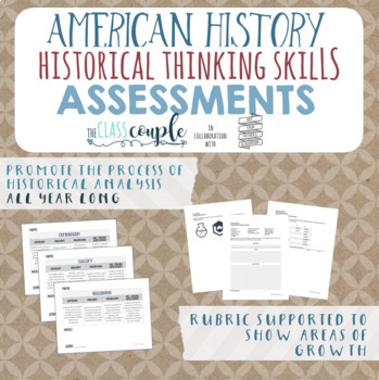 American History Critical Thinking Skills Assessments