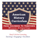 American History Curriculum- From Columbus to Yorktown