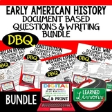 American History DBQ Activities, Primary & Secondary Sourc