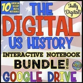 American History DIGITAL Interactive Notebooks | Distance