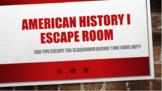 American History Escape Room