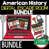 American History Escape Room BUNDLE, American History Breakout Room BUNDLE