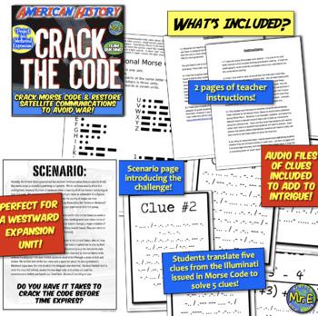 Westward Expansion Escape Room: Crack Morse Code & Solve Manifest Destiny Puzzle