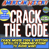 Westward Expansion Escape Room: Crack Morse Code & Solve Manifest Destiny Puzzle