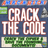American History Escape Room: Save Constitution, Declaration of Independence!