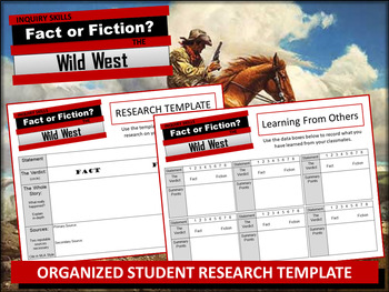 Westward Expansion: Fact or Fiction and the Wild West!
