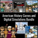 American History Games and Digital Simulation Bundle