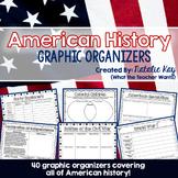 American History Graphic Organizers
