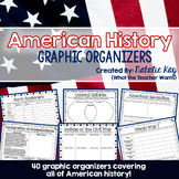 American History Graphic Organizers