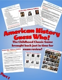 American History Guess Who Game