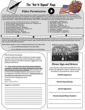 American History I and II Visual Syllabus