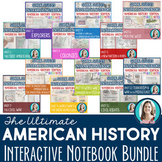 American History Interactive Notebooks ULTIMATE BUNDLE! Editable!
