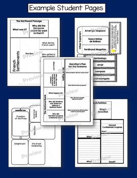 American History Interactive Notebook Exploration - Federalist Era