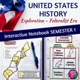 American History Interactive Notebook Exploration - Federalist Era