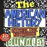 American History Interactive Notebook Bundle! 10 Notebooks