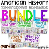 American History Interactive Notebook and Graphic Organizers Bundle (PART 4)