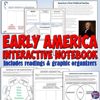 American History Interactive Notebook for the Constitution