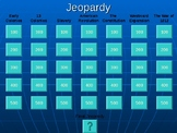 Huge American History Jeopardy Game (Colonial America thro
