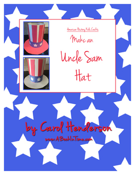 American History Kids Crafts: Make An Uncle Sam Hat