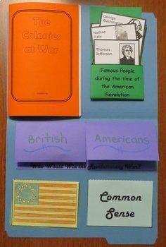 American History Lap Books - Bundled Set #1