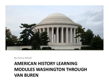 United States History Learning Modules Washington through