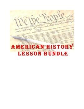 Constitution: Lesson Bundle