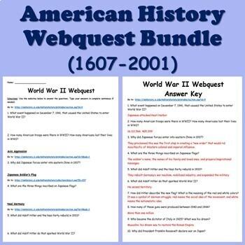 American History Resource MEGA BUNDLE (Colonial America to September 11 Attacks)