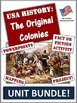 American History Mega Bundle! Pre-Civil War Course. 235+ Pages and Slides!