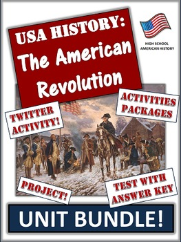 American History Bundle -  1607 to 1860 -  235+ Pages and Slides of Learning!