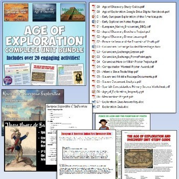 American History MEGA Bundle Part 1: Exploration to Constitution