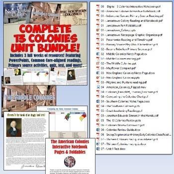 American History MEGA Bundle Part 1: Exploration to Constitution
