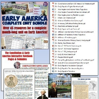 American History Mega Unit Bundle Part 2 - Sectionalism to Reconstruction