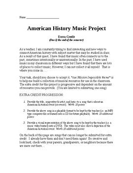 American History Music Project