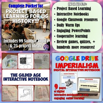 American History Part 2: Complete Curriculum Digital Download