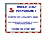 American History Password Game