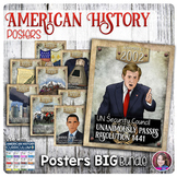 American History Events Poster Set Bundle