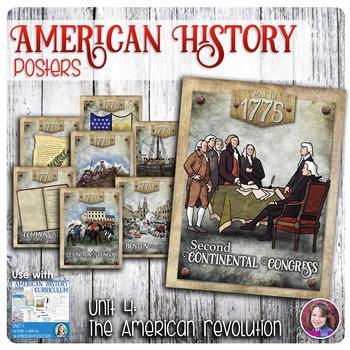 American Revolution Poster Set
