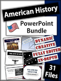 American History Powerpoint Presentations - 31 Dynamic and