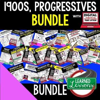 US History Turn of Century & Progressive Era BUNDLE (American History Bundle)