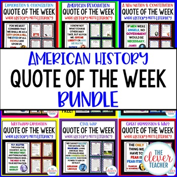 American History Quote of the Week