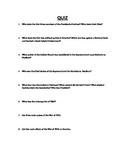 American History Quiz Presidency of George Washington thro
