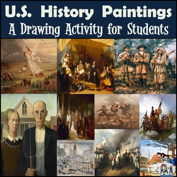 American History - Recreating Historic Paintings Series - 20% Discount!