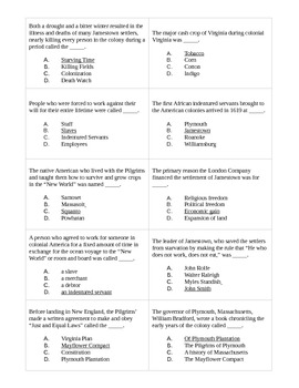 American History Review Game
