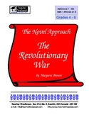 American History - Revolutionary War novel studies