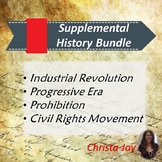 American History SUPPLEMENTAL BUNDLE for Special Education