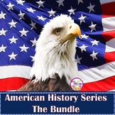 American History Activities - U.S. History  3rd, 4th, 5th Grades - BUNDLE